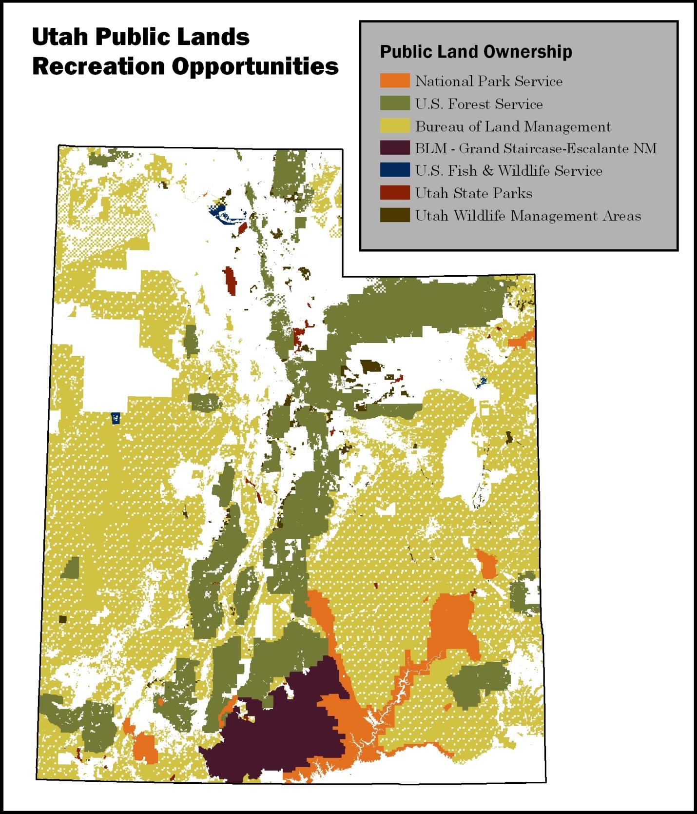 SCORP public land ownership